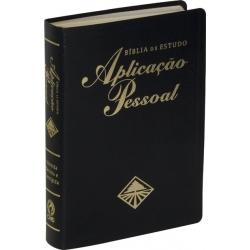 Bíblia de Estudo Aplicação Pessoal Grande -  Luxo - Preta