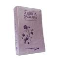 Bíblia Grande REMC (Referências e Mini Concordância)Capa Arabesco Lilás