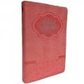 Bíblia Grande com Harpa Letra GD Rosa