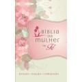 A Bíblia da Mulher de Fé – Capa flores
