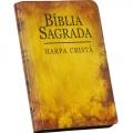 Bíblia C/Harpa LG Ziper Covertex Flores Amarelas