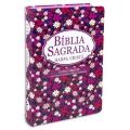 Bíblia Com Harpa LGig. Flores
