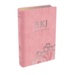 Bíblia King James Fiel 1611  - Luxo Rosa