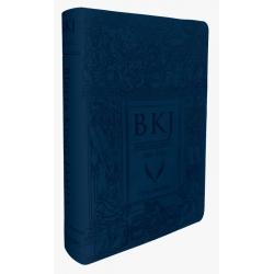 Bíblia King James Fiel 1611 Letra Ultra Gigante - Azul