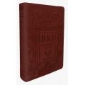 Bíblia King James Fiel 1611 Letra Ultra Gigante - Marrom