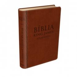 Bíblia King James atualizada - Marrom