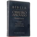 Bíblia Obreiro Aprovado C/harpa Média Luxo  - Preta