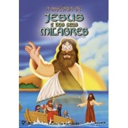 DVD -  A História de Jesus e dos seus Milagres