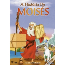 DVD -  A História de Moisés