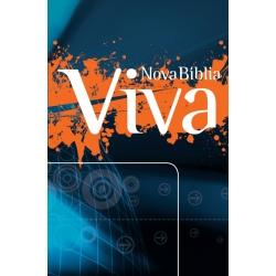 Nova Bíblia Viva - Azul e Laranja